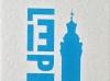 Buchstabengrafik Leipzig Neues Rathaus