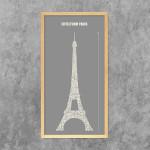 Grafik Eiffelturm