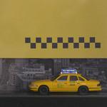 Architekturtypografik Objekt NYC Taxi #2