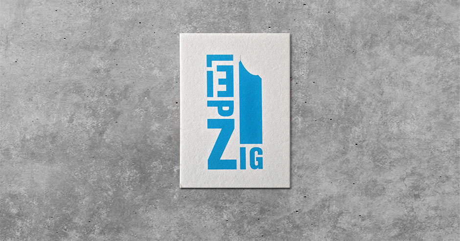 Buchstabengrafik Leipzig - City-Hochhaus