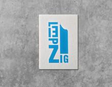 Buchstabengrafik Leipzig – City-Hochhaus