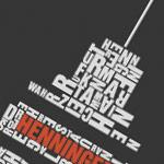 Detail Grafik Henninger-Turm Frankfurt